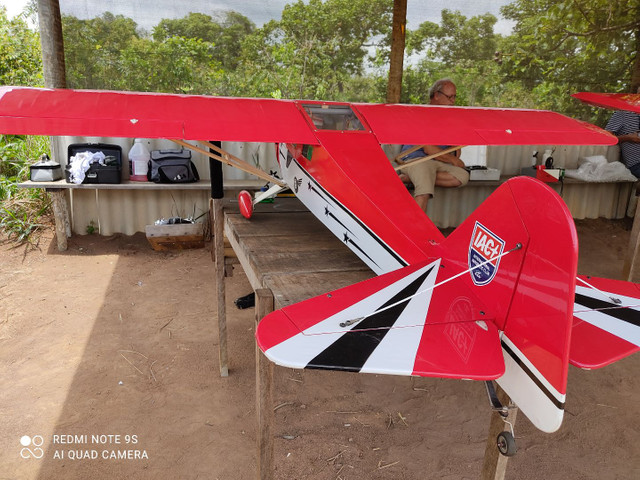 Aeromodelo Taylor craft para dle 30 - Foto 6