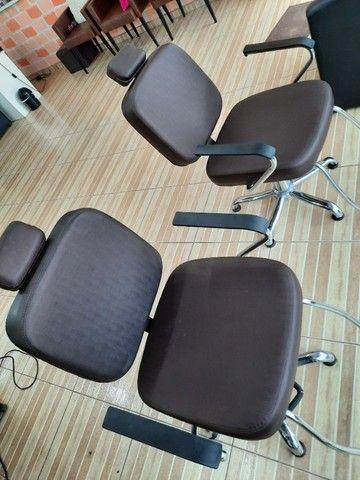 Cadeira de Cabeleireira  - Foto 4