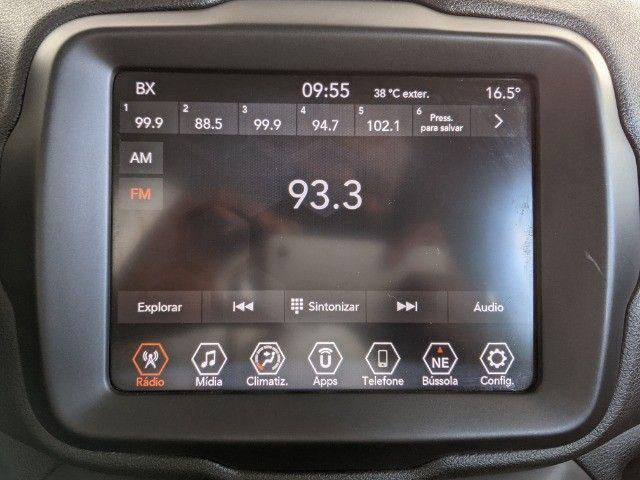 Jeep Renegade 1.8 Flex Longitude Automático 2019 Branco! - Foto 10