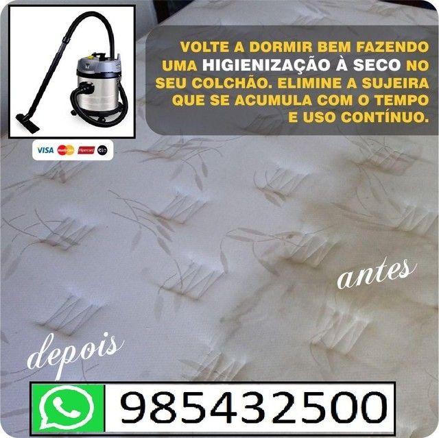 Lavagem para sofá a seco (informações pelo whatsapp)<br> - Foto 3