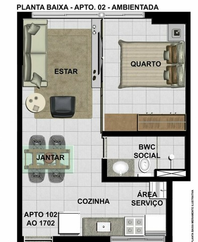 ACT   Flat de 32 m²   Aflitos (Oportunidade) - Foto 18