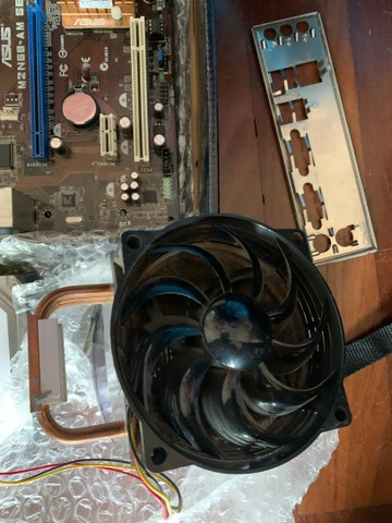 Kit amd am2 mais cooler e hd  - Foto 3
