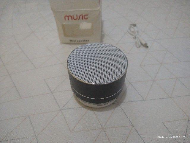 Mini caixa de som via bluetooth (NOVO) - Foto 3