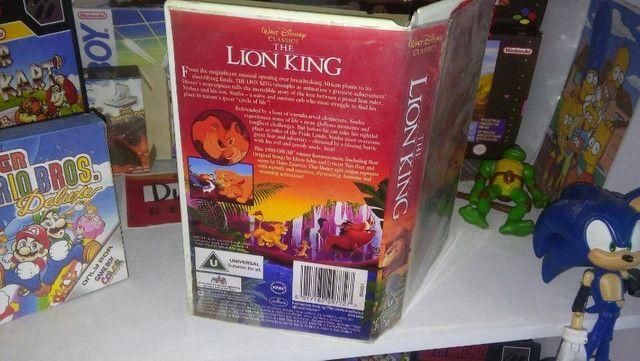 Quadro O Rei Leão + Caixa Vhs - Foto 6