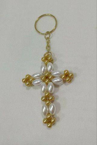 Chaveiro de crucifixo - Foto 2