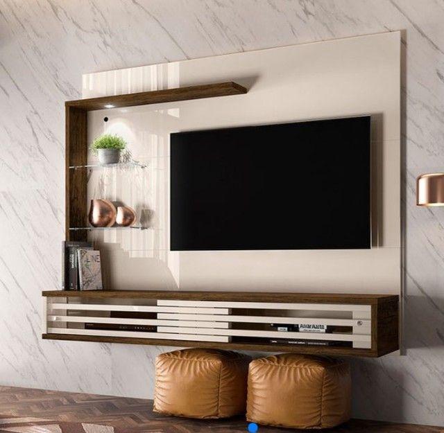 "Painel Suspenso para TV de 50"" Frizz Select - Madetec<br>"