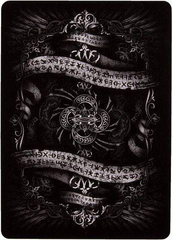 Baralho Arcane Black Uspcc Ilusionista Magica