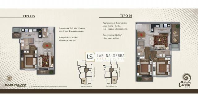 Apartamento com 2 dormitórios à venda, 105 m² por R$ 549.000,00 - Vila Suiça - Canela/RS - Foto 9