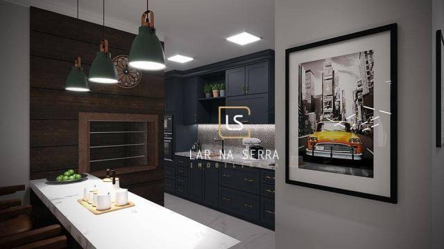Apartamento à venda, 107 m² por R$ 728.260,47 - Lagos Do Bosque - Gramado/RS - Foto 12