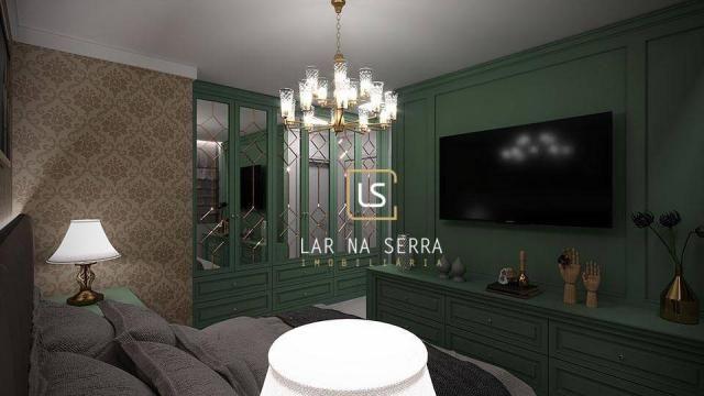 Apartamento à venda, 107 m² por R$ 728.260,47 - Lagos Do Bosque - Gramado/RS - Foto 14