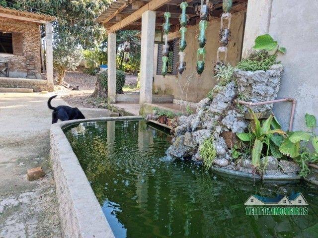 Velleda oferece 1 hectare a 5 minutos centro viamão com açude e casa, troca - Foto 18