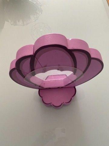 Enfeite de mesa- concha  (02 unidades rosas e 02 unidades lilás) - Foto 4