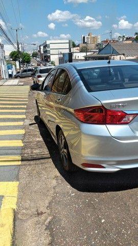 Honda city ex automático 2015 único dono - Foto 5