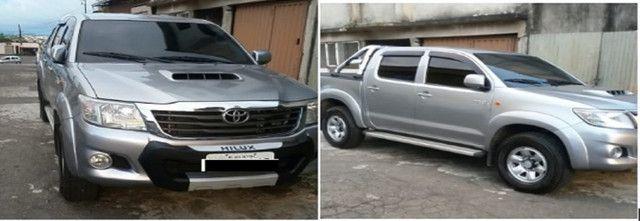 Hilux Toyota cabine dupla, 4 portas
