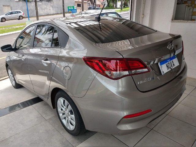 Hyundai HB20S Comfort Plus 1.6 Flex Automático 2019 - 27.481 Km / Garantia Fábrica 11/2023 - Foto 5
