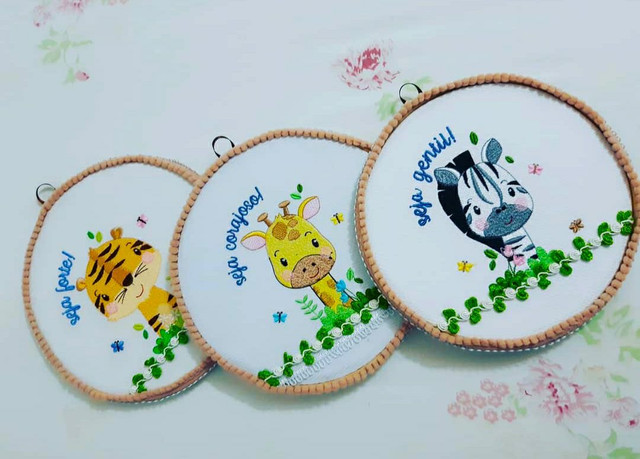 Enxoval para bebê bordados  - Foto 2