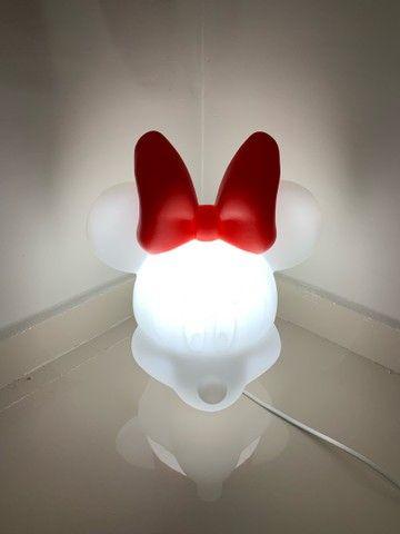 Luminária Minnie Clean