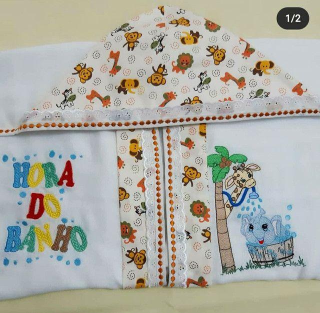 Enxoval para bebê bordados  - Foto 3