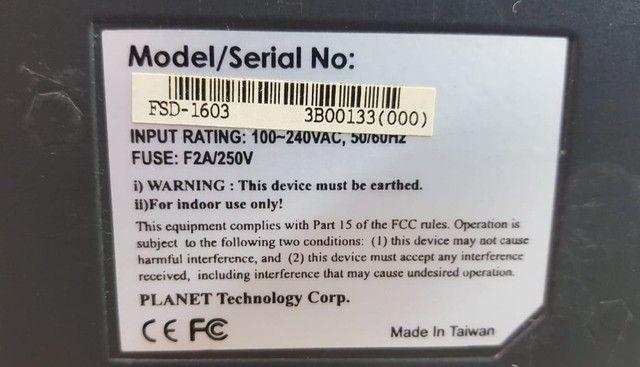 Switch Planet 16 Portas RJ45 10/100mbps - Foto 4