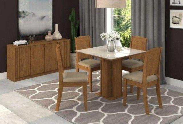 Mesa Florença 4 cadeiras - Entrega Imediata!!!!