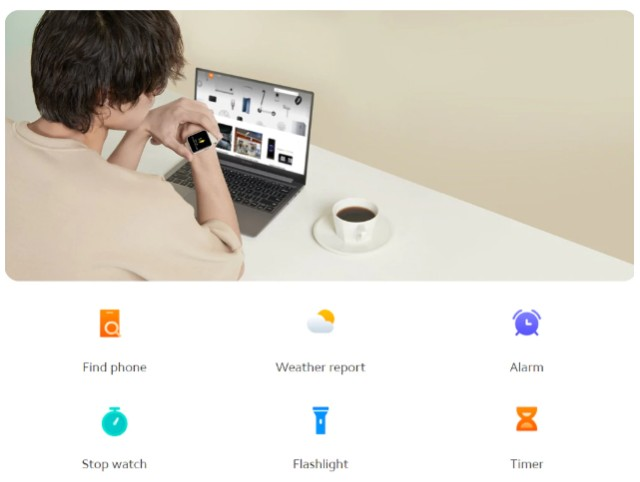 Relógio SmartWatch Amazfit Mi Watch Lite - Foto 5