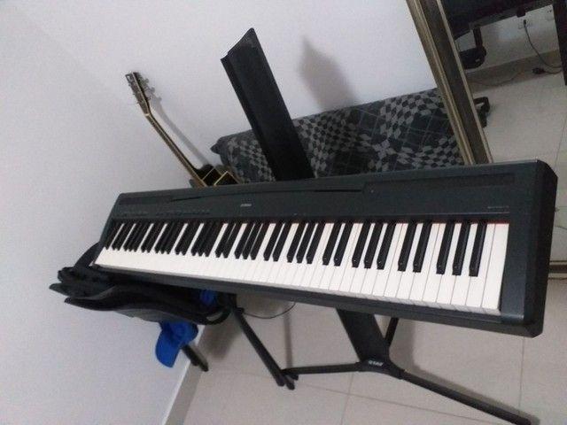 Piano Eletrônico Yamaha P95 - Foto 3