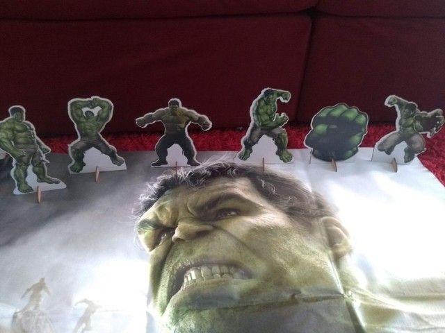 Kit Decoração Hulk  - Foto 3