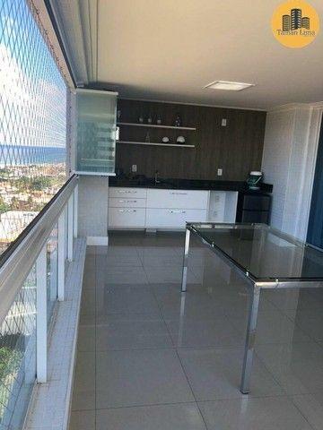Apartamento com 4 suítes, vista mar em ´Patamares,3 vagas, Nascente. - Foto 8