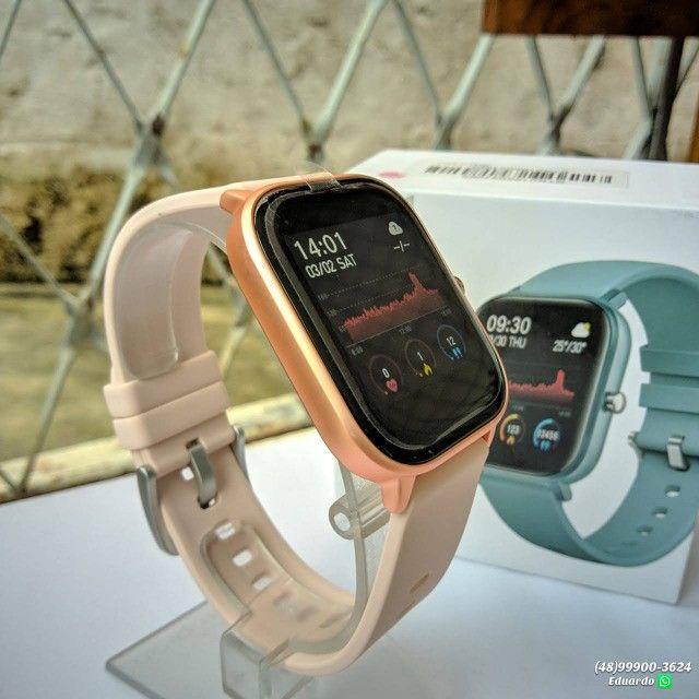 Relógio inteligente Smartwatch P8!!  monitor Cardíaco, sono, etc (NOVO)