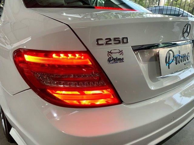 Mercedes C-250 CGI Avantgarde - KM 60.000 revisões na CC - Nova!!! - Foto 6