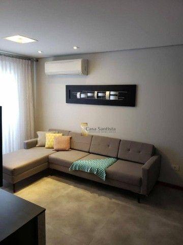 Apartamento com 2 dormitórios à venda, 70 m² por R$ 485.000,00 - Aparecida - Santos/SP - Foto 6