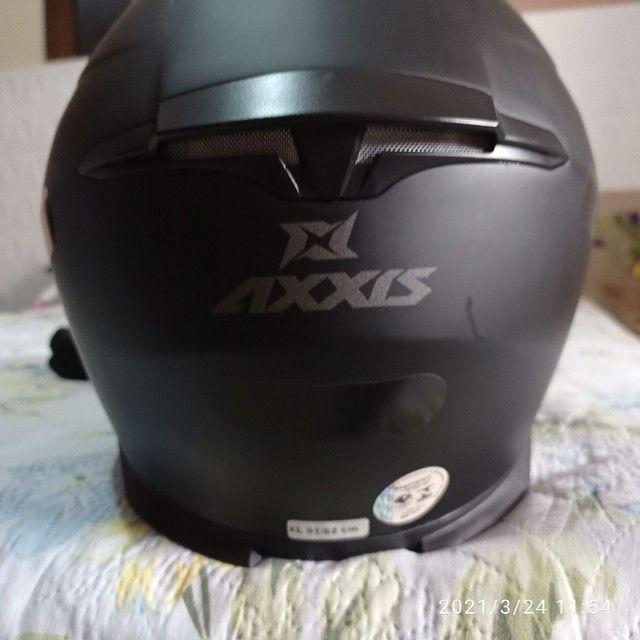 Capacete axxis novo - Foto 5