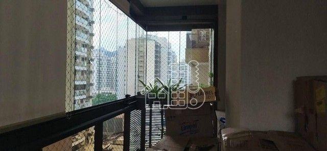 Apartamento com 3 dormitórios à venda, 98 m² por R$ 1.300.000,00 - Icaraí - Niterói/RJ - Foto 2