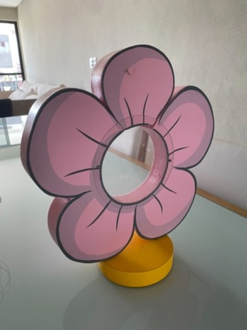 Flores Mdf - 06 unidades  - Foto 2