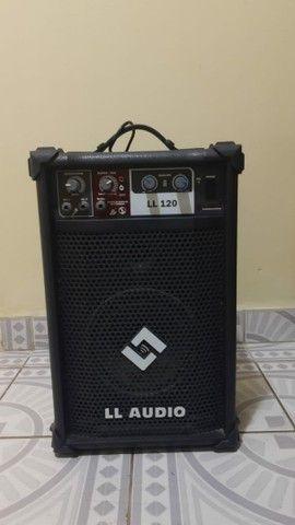 Caixa Amplificada Multi Uso LL 120 LL Áudio