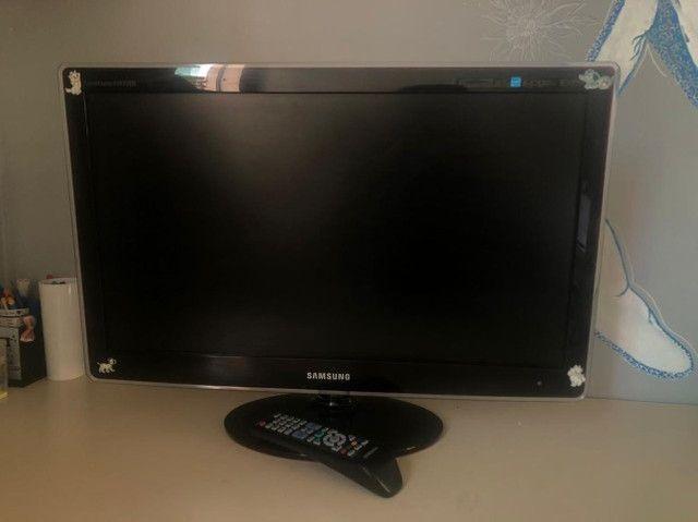 TV monitor lcd 24pol Samsung (widescreen) P2470HN