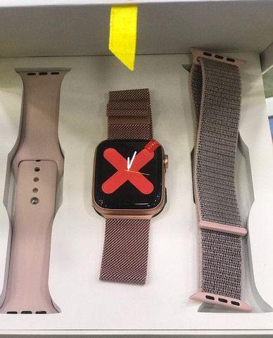 Pronta Entrega Original Smartwatch Relógio Inteligente Iwo12 Pro Série 5 44mm - Foto 3