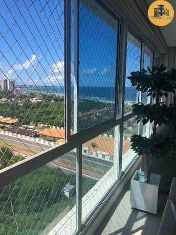 Apartamento com 4 suítes, vista mar em ´Patamares,3 vagas, Nascente. - Foto 6