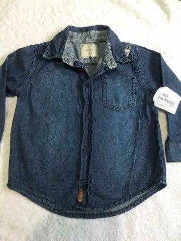 Camisa Jean menino