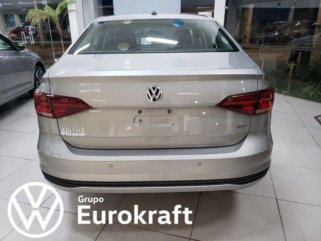 VW Virtus 1.6 MSI automático 2022 Zero KM - Foto 6