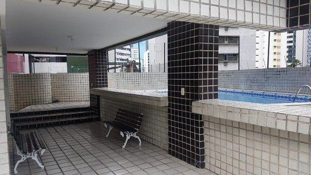 MY/ Lindo Apt em Boa Viagem, 114 M², 3 Qts, 1 Suite, Dep + Home, 2 Vagas, Piscina. - Foto 13