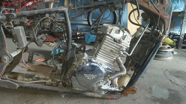 motor completo ghost spyder 300 cc - Foto 6