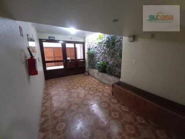 Apartamento com 2 dormitórios para alugar, 85 m² por R$ 800/mês - Rua Andrade Neves- Centr - Foto 4