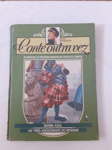 Livro barba azul- Xuxa
