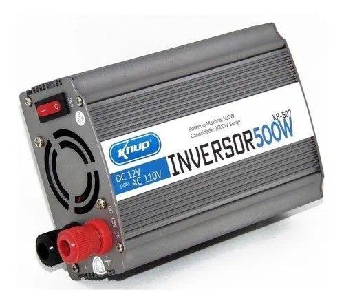 Inversor Conversor Transformador Knup 500w 12v 110v KP-507  - Foto 3