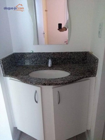 Apartamento com 1 dormitório para alugar, 50 m² por R$ 1.100/mês - Centro - São José dos C - Foto 11