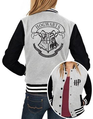 Jaqueta College Feminina Hogwarts Harry Potter - Foto 2