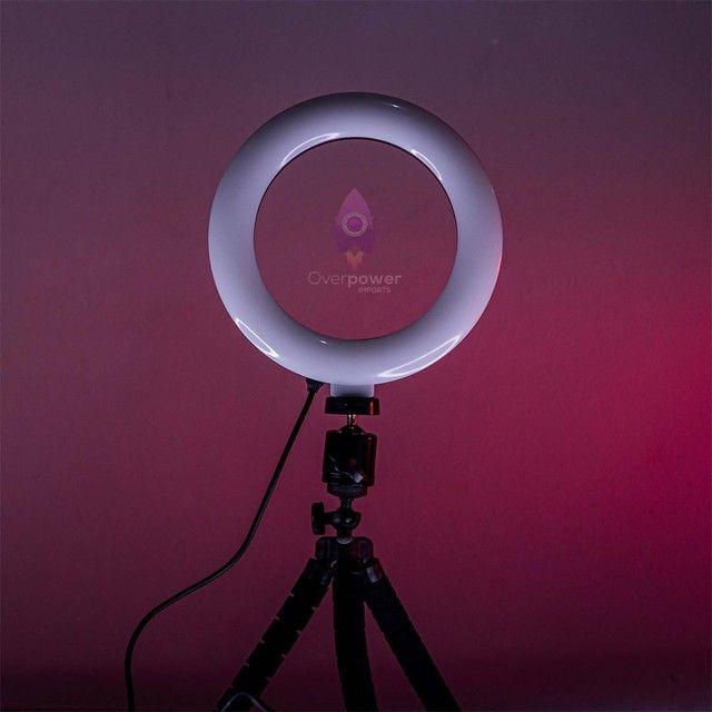 Ring Light 16 CM + Tripé para celular - Foto 2