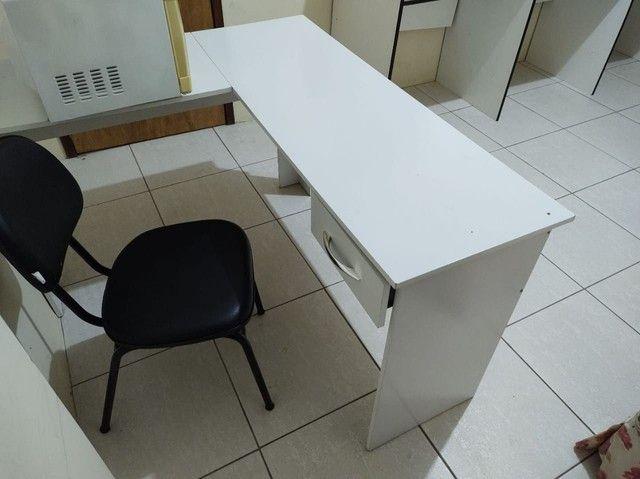 Mesa L para escritório - Foto 2