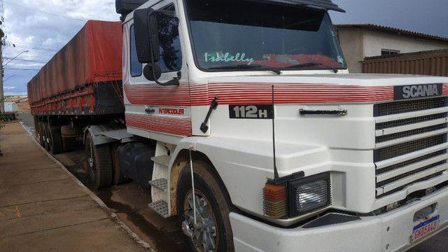 Vendo caminhão scania 112 enganada ls